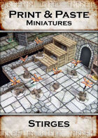 Print & Paste Miniatures: Stirges