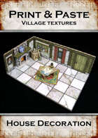 Print & Paste Village textures: House Decoration