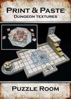 Print & Paste Dungeon textures: Puzzle Room