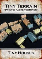 Print & Paste Textures: Tiny Houses