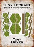 Print & Paste Textures: Tiny Hexes