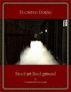 Haunted House : Stockart Background