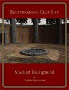 Subterranean Cult Site : Stockart Background