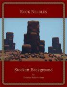 Rock Needles : Stockart Background