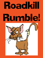 ROADKILL RUMBLE Card Game - Rule Sheet
