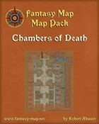 Chambers of Death - Dungeon Map