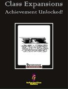 Class Expansions: Achievement Unlocked! [PFRPG]