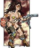 CAC350-Post-Apocalypse-Gunfighter-Babe