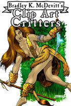 Clipart Critters 443 - Jungle Girl