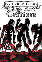 Clipart Critters 446-Zombie Horde