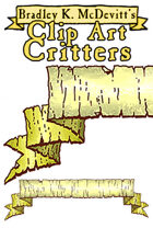 Clipart Critters 455 - Fantasy Banner