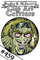 Clipart Critters 459 - Insane Hippie