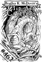 Clipart Critters 462 - Midget Dragon