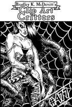 Clipart Critters 477 - Urban Fantasy Tarantula