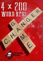 4 x 200 Word RPGs