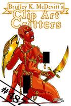 Clipart Critters 487 - Dejah Thoris