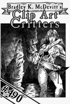Clipart Critters 490 - Psycho Killer