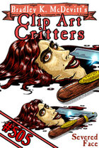 Clipart Critters 505- Severed Face