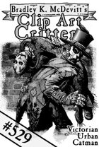 Clipart Critters 529 - Victorian Urban Catman
