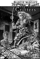 Clipart Critters 532- Elf Samurai