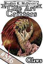 Clipart Critters 576 - Claws