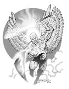 Clipart Critters 137 - Avenging Angel