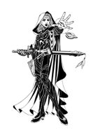 Tobyart 006 - Elf Sword Priestess