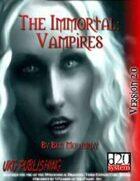 The Immortal: Vampires