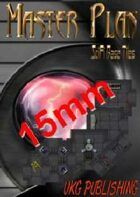 Master Plan: SciFi Base Tiles: 15mm