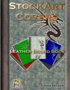 StockArt Covers: Leather Bound Book IV