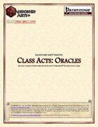 Class Acts: Clerics