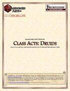 Class Acts: Druids
