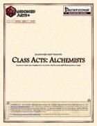 Class Acts: Alchemists