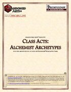 Class Acts: Alchemist Archetypes