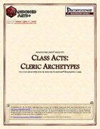 Class Acts: Cleric Archetypes
