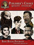 Publisher's Choice - Basic Racial Portraits (Fantasy Males)