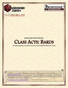 Class Acts: Bards
