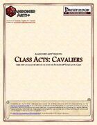 Class Acts: Cavaliers