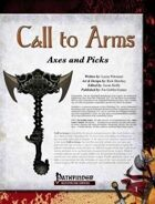Call to Arms: Axes & Picks