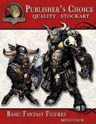 Publisher's Choice - Basic Fantasy Figures (Minotaurs)