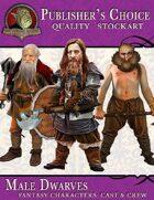 Publisher's Choice - Fantasy Cast & Crew: Male Dwarves