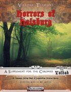 Vathak Terrors: Horrors of Halsburg