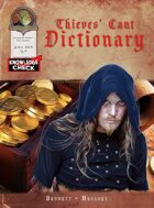 Knowledge Check: Thieves' Cant Dictionary