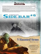 Sidebar #6 - 5 Haunted Items