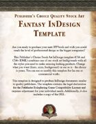 Publisher's Choice - Fantasy InDesign Template