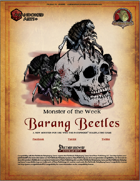 Monster of the Week - Barang Beetles