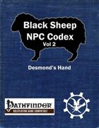 Black Sheep NPC Codex Vol 2 Free Sample