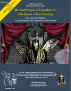 DNH1a - The Lost Temple of Forgotten Evil - Sidequests - River Crossing (5th Edition Fantasy- OSR)