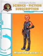 Publisher's Choice -Science Fiction: Alien Character 1