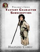 Publisher's Choice - Fantasy Characters: Halfling Cleric